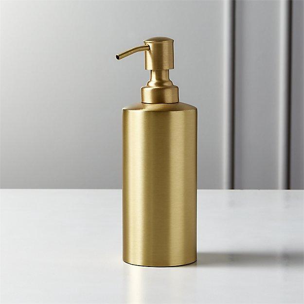 Elton Brushed Brass Soap Pump - Image 1 of 12