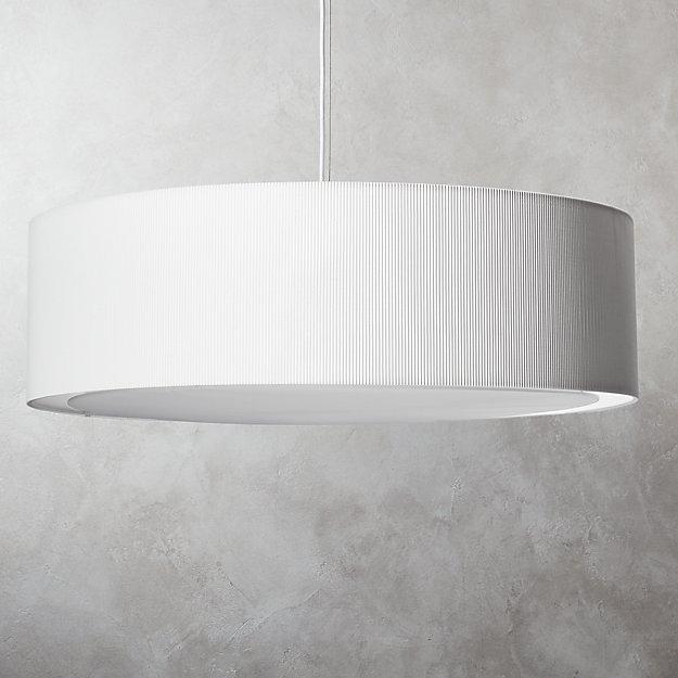 Equator White Oversized Pendant Light - Image 1 of 11