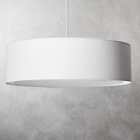 the best attitude 90650 d986a Equator White Oversized Pendant Light