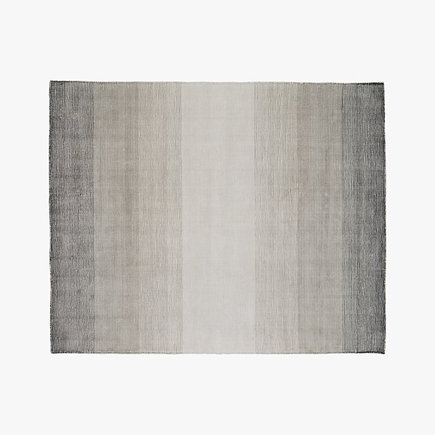 Equinox Grey Ombre Rug 8 X10 Reviews Cb2