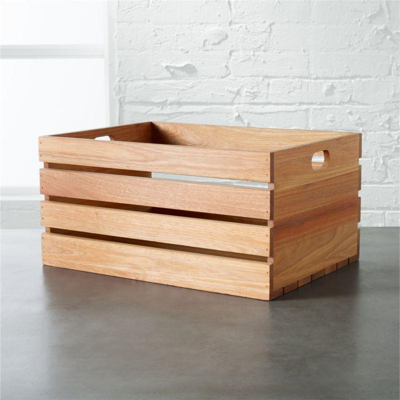 Bathroom Storage Baskets | CB2