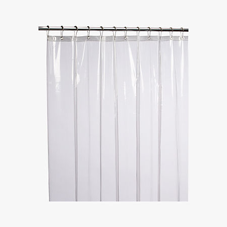 Peva Clear Shower Curtain Liner 72 Reviews Cb2