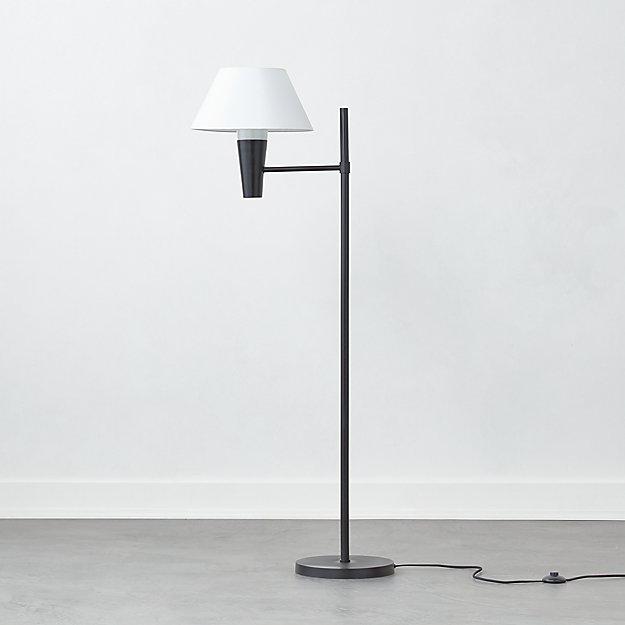 Exposior Black Floor Lamp Model 2009 - Image 1 of 3