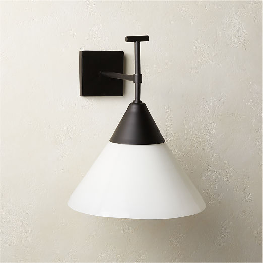 Exposior Black Wall Sconce Model 2027