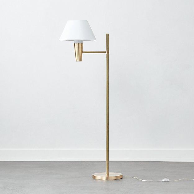 Exposior Brass Floor Lamp Model 2009 - Image 1 of 3