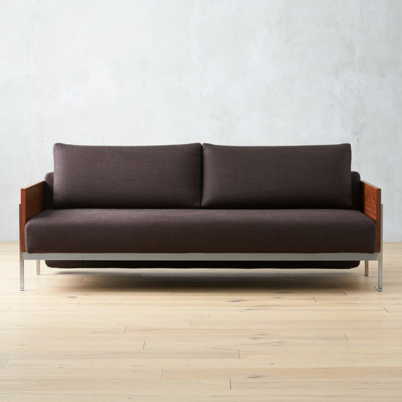 Exton Espresso Sleeper Sofa More Options