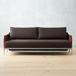 Charmant Exton Espresso Sleeper Sofa