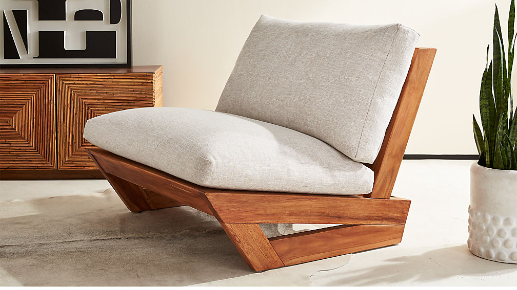 Sunset Teak Lounge Chair