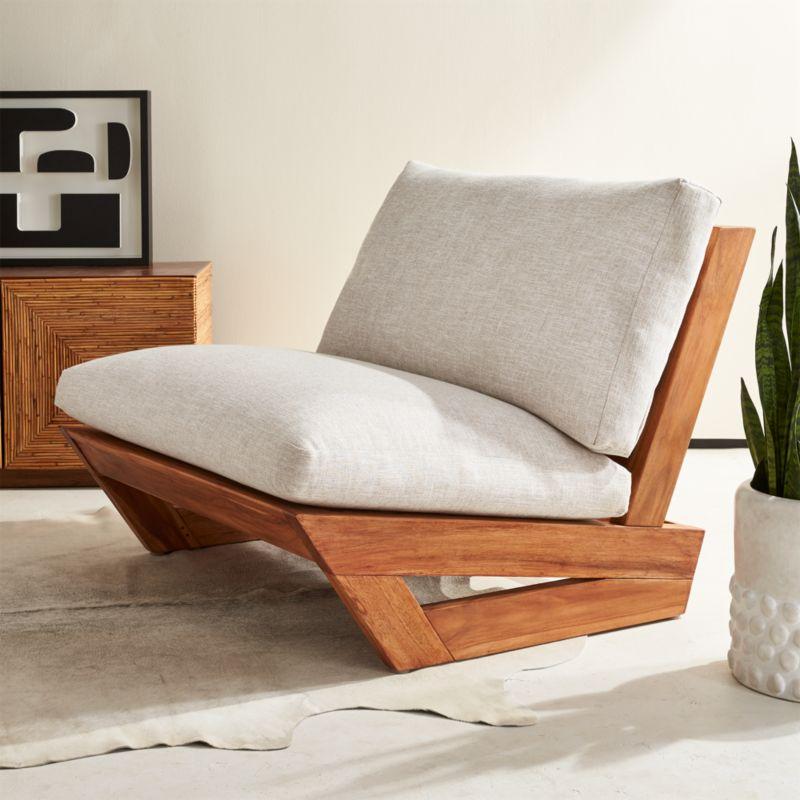 Sunset Teak Lounge Chair