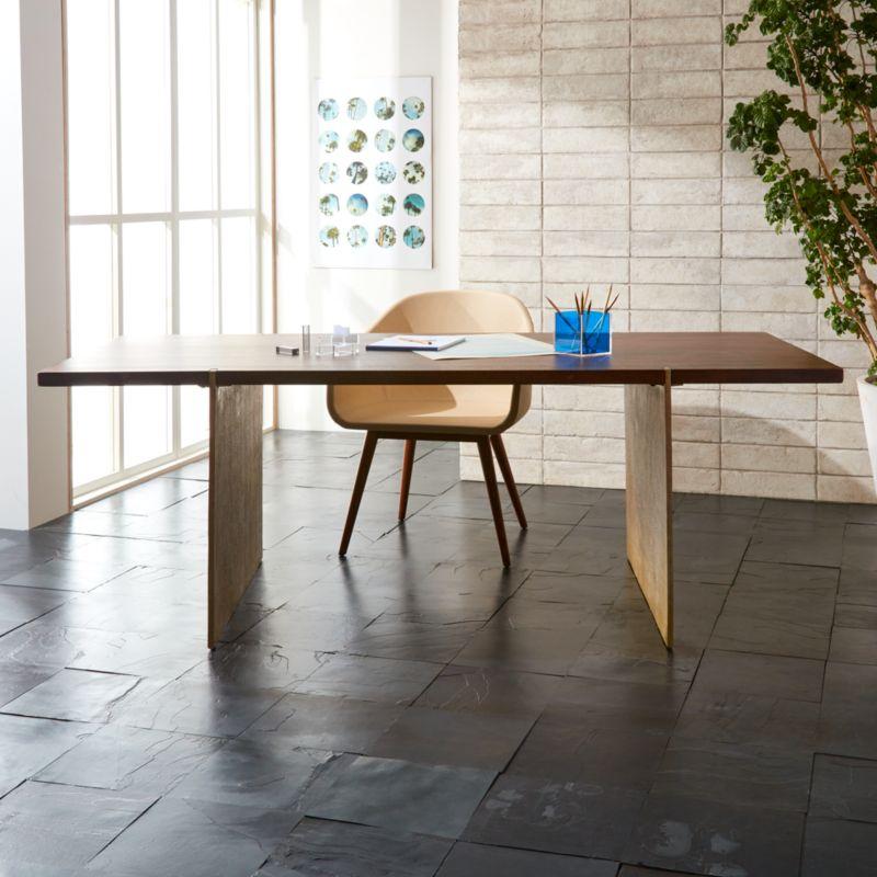 Venice Studio Wood Table Desk