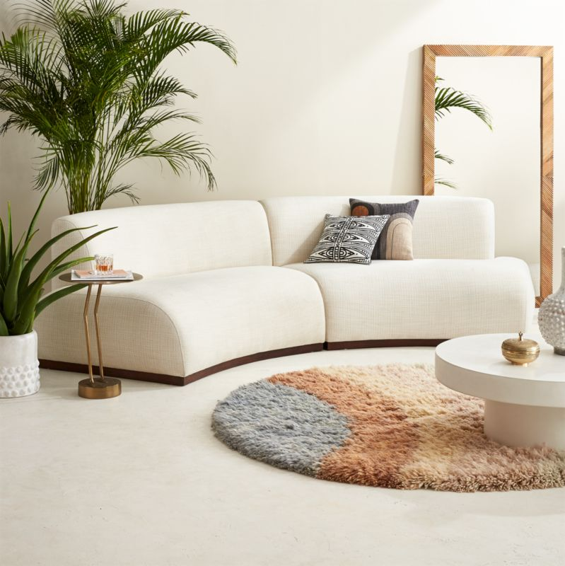 Moon Sectional Sofa Bed: Curved Sofas