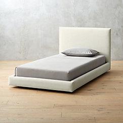 Twin Bed Mattress.Facade Snow Bed