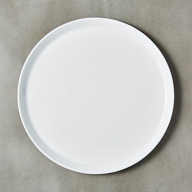 Fade White Bone China Dinner Plate - Image 1 of 7