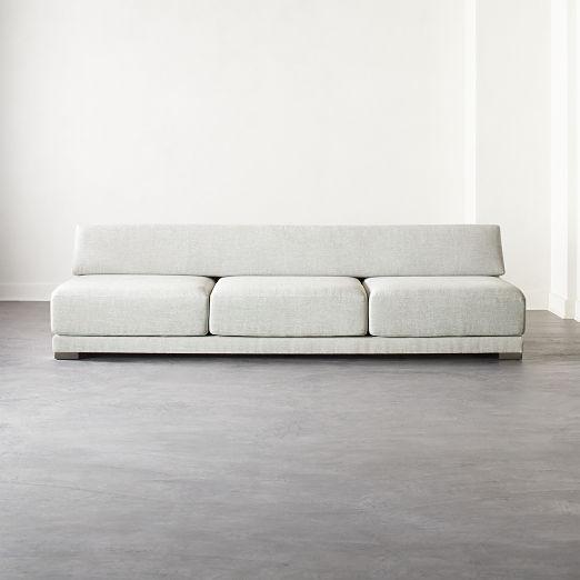 Familia Grey 3 Seater Sofa