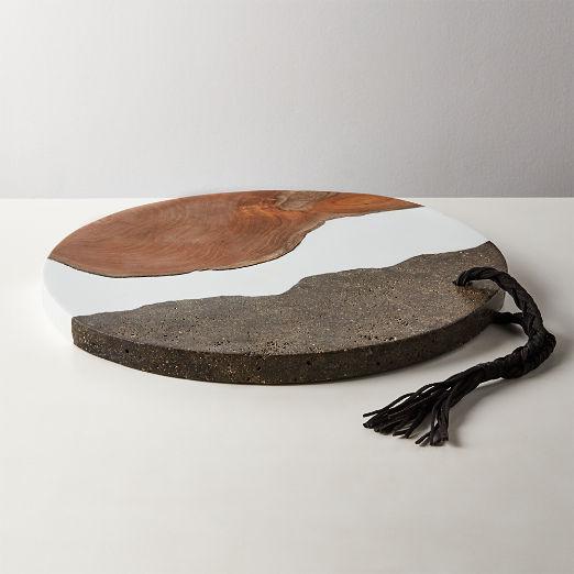 Fault Circular Serving Platter