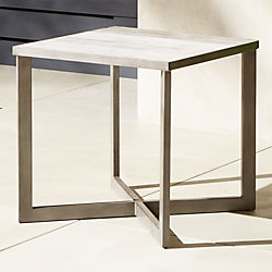 Modern Side Tables End Sofa And Accent Tables CB - Acrylic cube side table
