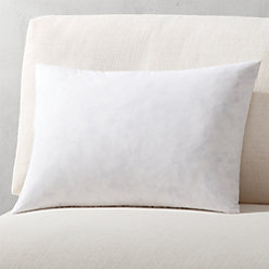 18 feather down pillow insert reviews cb2. Black Bedroom Furniture Sets. Home Design Ideas