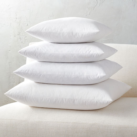 Feather-Down Square Pillow Inserts