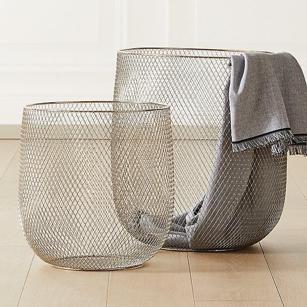 Fence Mesh Baskets - Image 1 of 9