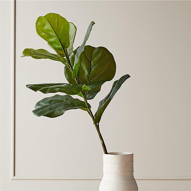 """Faux Fiddle Leaf Fig Stem 42.5"""" - Image 1 of 3"""