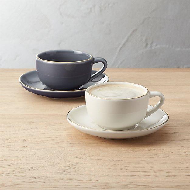 fiona espresso cups and saucers cb2
