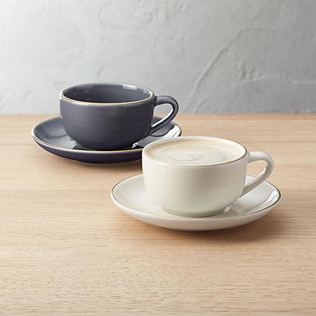 Fiona Espresso Cups And Saucers