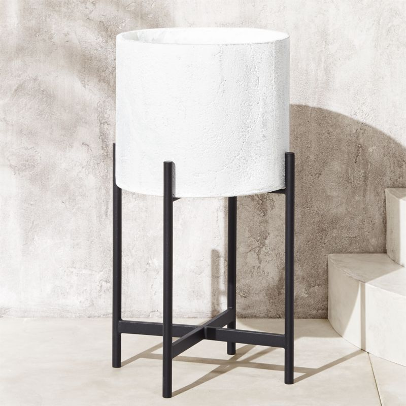 Fiore Planter With Stand by Crate&Barrel