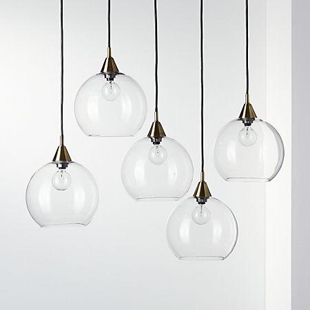 Firefly 5 Bulb Br Pendant Light