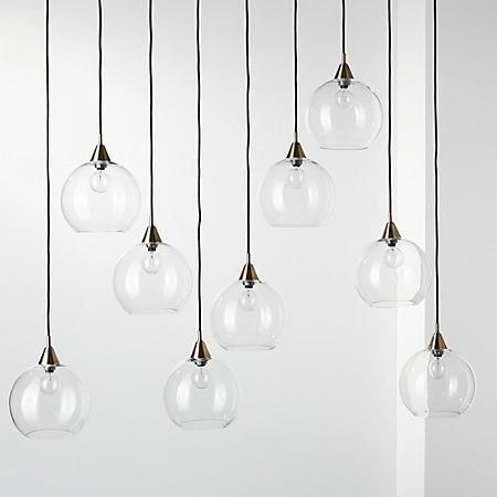 Firefly 9 Bulb Br Pendant Light