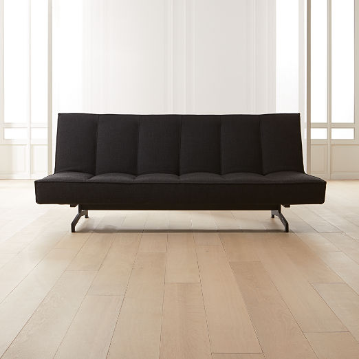 Flex Black Sleeper Sofa