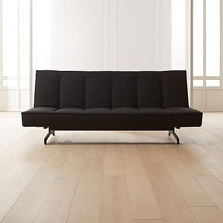 Flex Black Sleeper Sofa Reviews Cb2