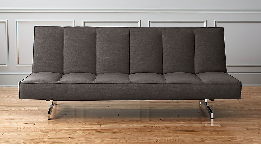 Sleeper Sofa.Flex Gravel Sleeper Sofa