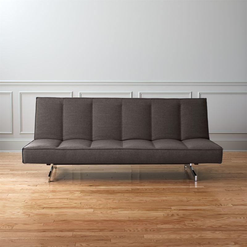 Flex Gravel Sleeper Sofa Cb2, How To Fix A Sleeper Sofa