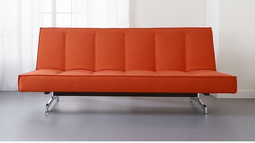 Perfect flex orange sleeper sofa + Reviews | CB2 MA44