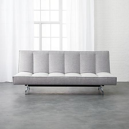 Incredible Flex Microgrid Grey Sleeper Sofa Lamtechconsult Wood Chair Design Ideas Lamtechconsultcom