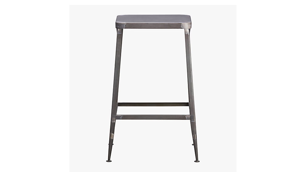 Flint Steel 30 Bar Stool Reviews Cb2