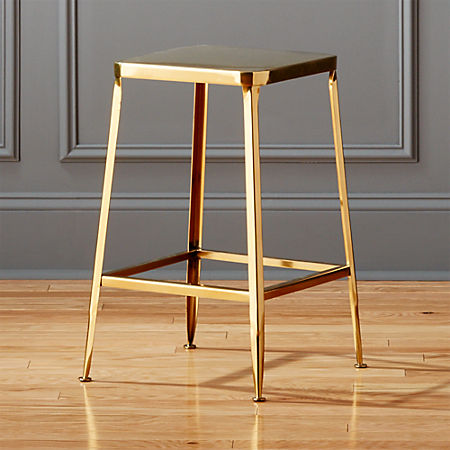 Pleasant Flint Gold 24 Counter Stool Gmtry Best Dining Table And Chair Ideas Images Gmtryco