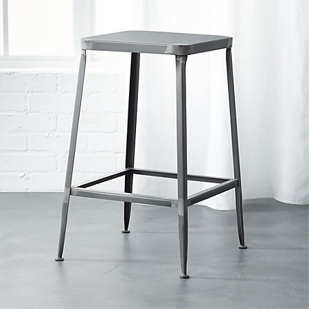 Admirable Flint Steel 24 Counter Stool Pabps2019 Chair Design Images Pabps2019Com