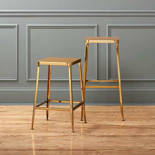 Miraculous Modern Bar Stools And Counter Stools Cb2 Bralicious Painted Fabric Chair Ideas Braliciousco