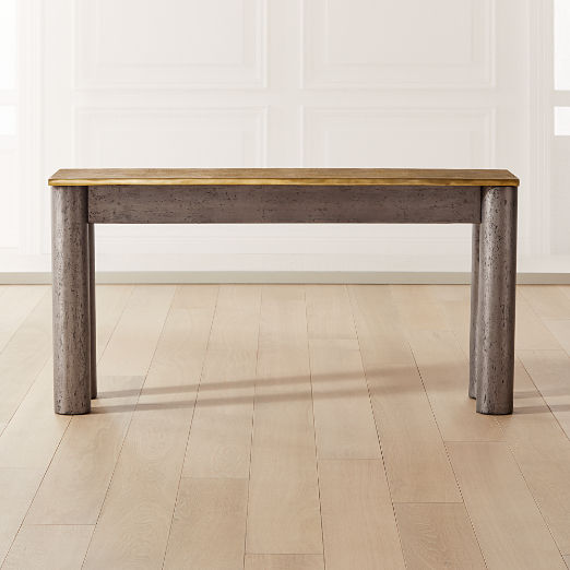 Float Shagreen Console Table