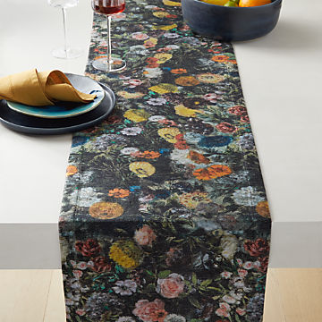 Modern Table Runners Tablecloths Cb2
