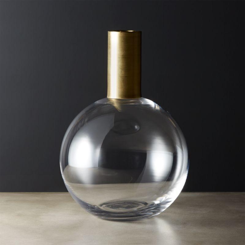 Glass Vases Cb2