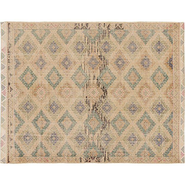 Foothills Hand Knotted Kilim Rug Cb2