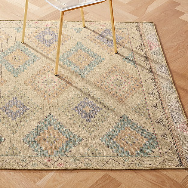 Foothills Hand-Knotted Kilim Rug - Image 1 of 8