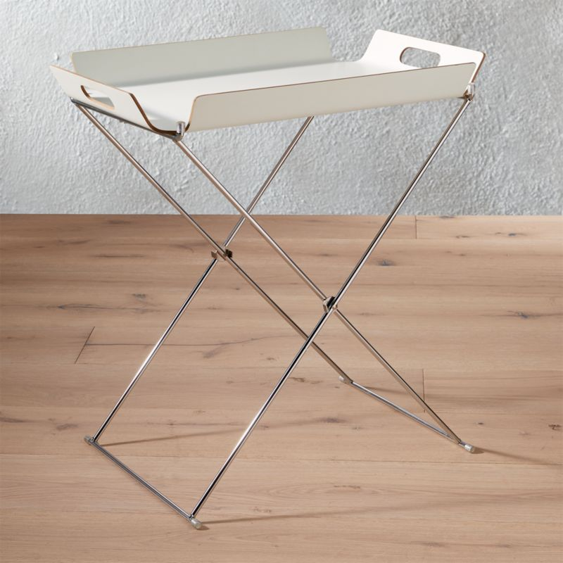 Acrylic Tray Table + Reviews | CB2
