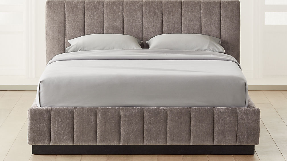 Forte Grey Bed - Image 1 of 3