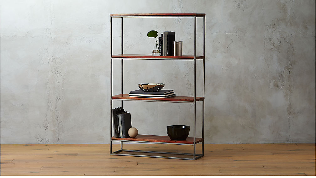 framework 4 shelf bookcase reviews cb2. Black Bedroom Furniture Sets. Home Design Ideas