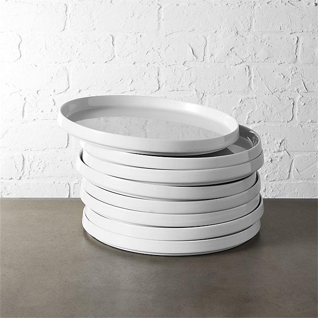 frank bauhaus dinner plate set reviews cb2