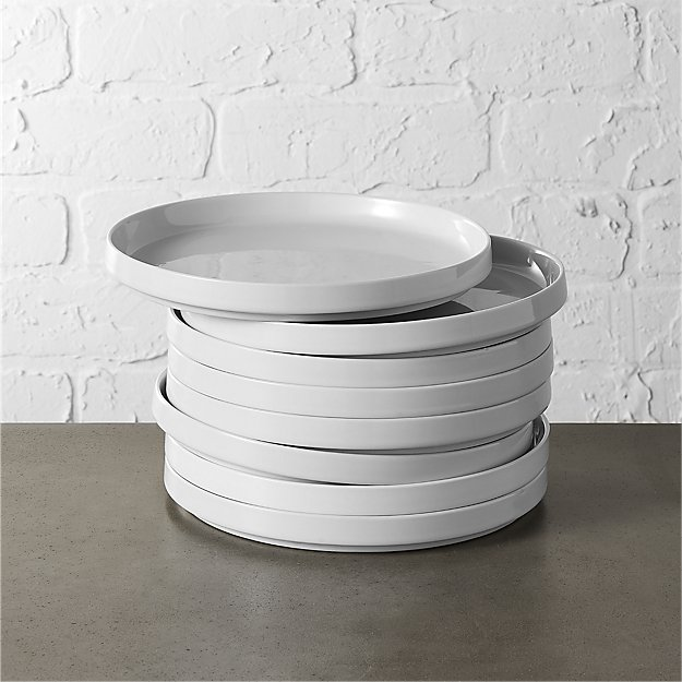 Set of 8 Frank Salad Plates - Image 1 of 3