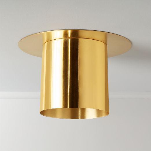 Frasco Brass Flush Mount Light